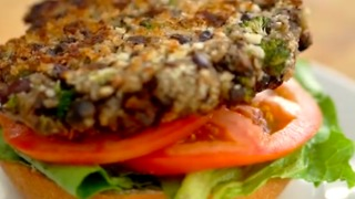 Portabella Veggie Burgers - Video