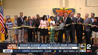 Monarch Academy Annapolis holds ceremonial grand opening - Video