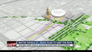 St. Pete starts 'Baseball Forever' initiative to keep Rays in downtown - Video