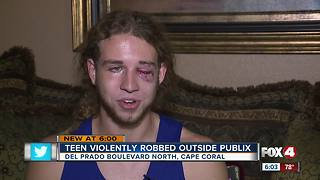 Teens robbed, beaten in Cape Coral shopping center - Video