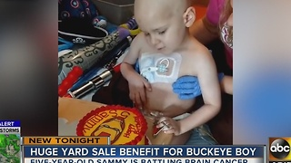 Buckeye community rallies behind boy with cancer