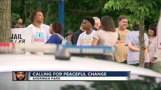 Sherman Park community comes together for peaceful change after not guilty verdict