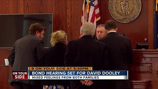 Families at odds over murder suspect's bond hearing - Video