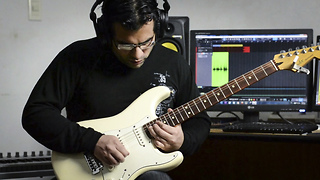 Electric guitar cover of Katy Perry's 'Rise' - Video