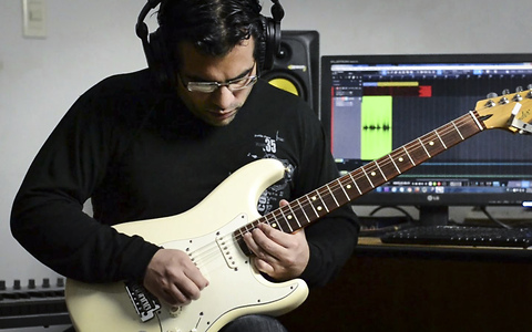 Electric guitar cover of Katy Perry's 'Rise'