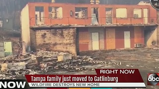 Tampa family just moved to Gatlinburg - Video