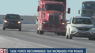 Road Report: Task force recommends gas tax increases to help pay for roads - Video