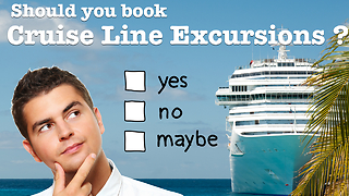 Should You Book A Cruise Excursion With Your Cruise Line?  - Video