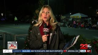 Bakersfield Christmas Parade weather 2 - Video