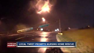 Local tweet prompts nursing home rescue - Video