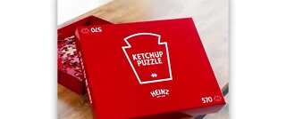 Heinz Ketchup all-red puzzle now available to buy