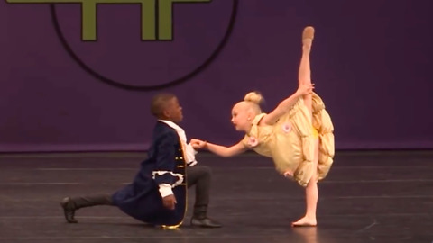 Kids Win First Place With 'Beauty And The Beast' Dance Performance