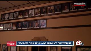 VFW post closures impact Hoosier veterans - Video