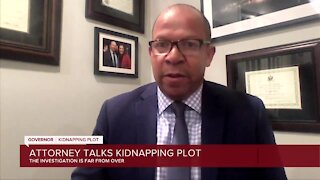 Attorney Jamie White talks kidnapping plot