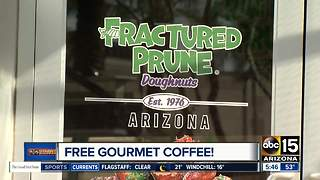 Celebrate National Gourmet Coffee Day with free coffee - Video