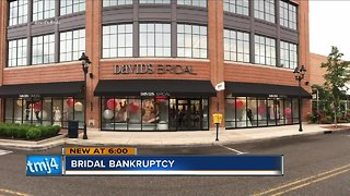 David's Bridal orders won't be affected amid bankruptcy news