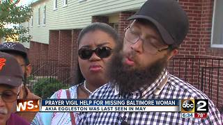 Baltimore family holds onto hope as the search continues for missing pregnant woman - Video