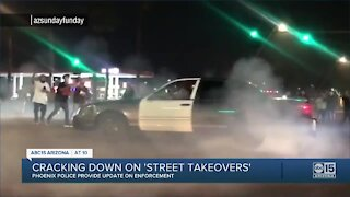Cracking down on street takeovers in the Valley