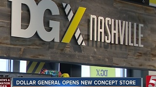 Dollar General Opens New DGX Store - Video