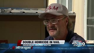 Neighbor helps save young man's life in Vail - Video