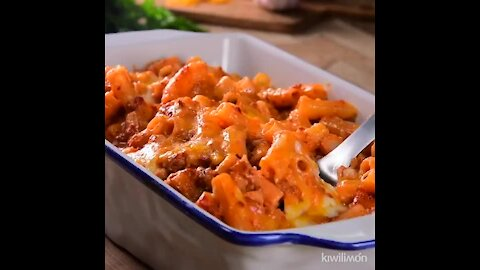 Macaroni with Chorizo and Cheese