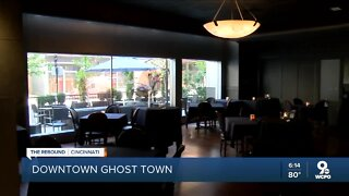 Ghost town dining: Empty seats hit Downtown hard