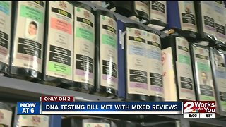 DNA testing bill met with mixed reviews