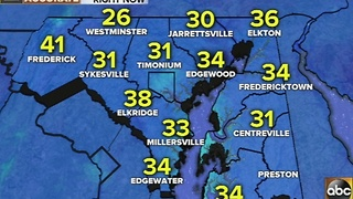 Colder temperatures with winds Thursday