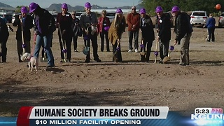 Humane Society of Southern Arizona takes major step forward - Video
