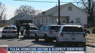 Tulsa Police identify man killed in officer-involved shooting - Video