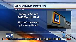 New ALDI store opening in Dundalk Monday - Video