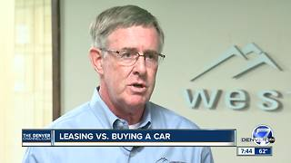Leasing Vs. Buying A Car - Video