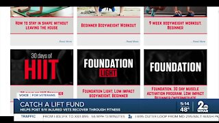 Catch a Lift Fund helps injured vets through fitness