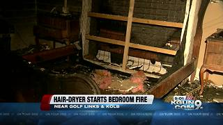 Two elderly people displaced from their home before Christmas after fire - Video