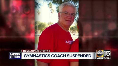 Top stories: Arizona gymnastics coach suspended; Governor Ducey cuts down lawmaker immunity; Heat returns over the weekend;