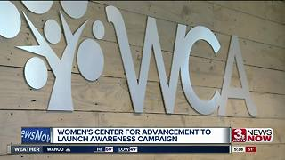 Women's Center for Advancement launches domestic violence awareness campaign - Video