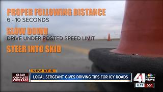Tips for driving on icy roads - Video