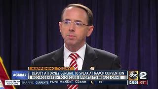 Rosenstein to speak at NAACP Convention - Video