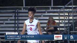 Forest Hill flag football upsets Dwyer
