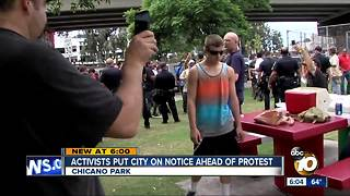 Activists put city on notice ahead of protest - Video