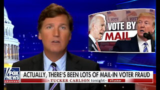 Tucker Carlson fact-checks Twitter: Actually, there has been lots of mail-in voter fraud