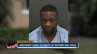 Man shoots, kills his girlfriend and her 10-year-old son inside Tampa apartment complex - Video