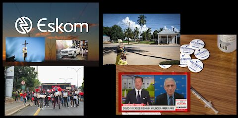 Opinionated News 8 April 2021 – More Eskom Corruption, Vaccine Woes, And Other News! (Part 1 of 2)