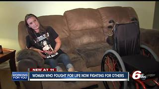 Domestic violence victim shot 8 times shares her story to help others