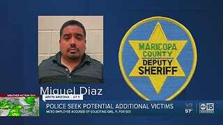 MCSO employee accused of soliciting young girl, police seek additional victims