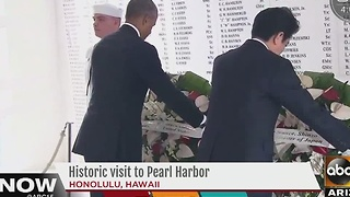 Historic visit to Pearl Harbor on Tuesday - Video