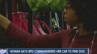 Woman says Buffalo police took car to find lost dog - Video