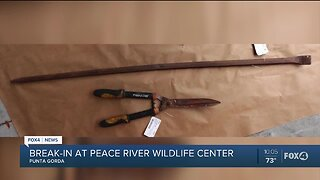 Police need help find person responsible for breaking into Peace River Wildlife Center