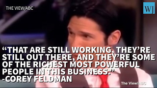Corey Feldman Tried To Warn Everyone About Hollywood's Problem With Sexual Predators - Video