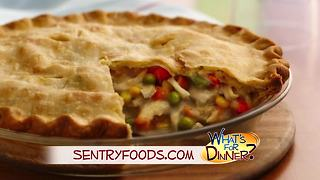 What's for Dinner? - Homestyle Chicken Pot Pie - Video